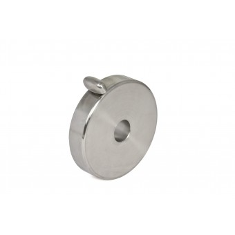 3kg counterweight for GM 1000 stainless steel (V2A)