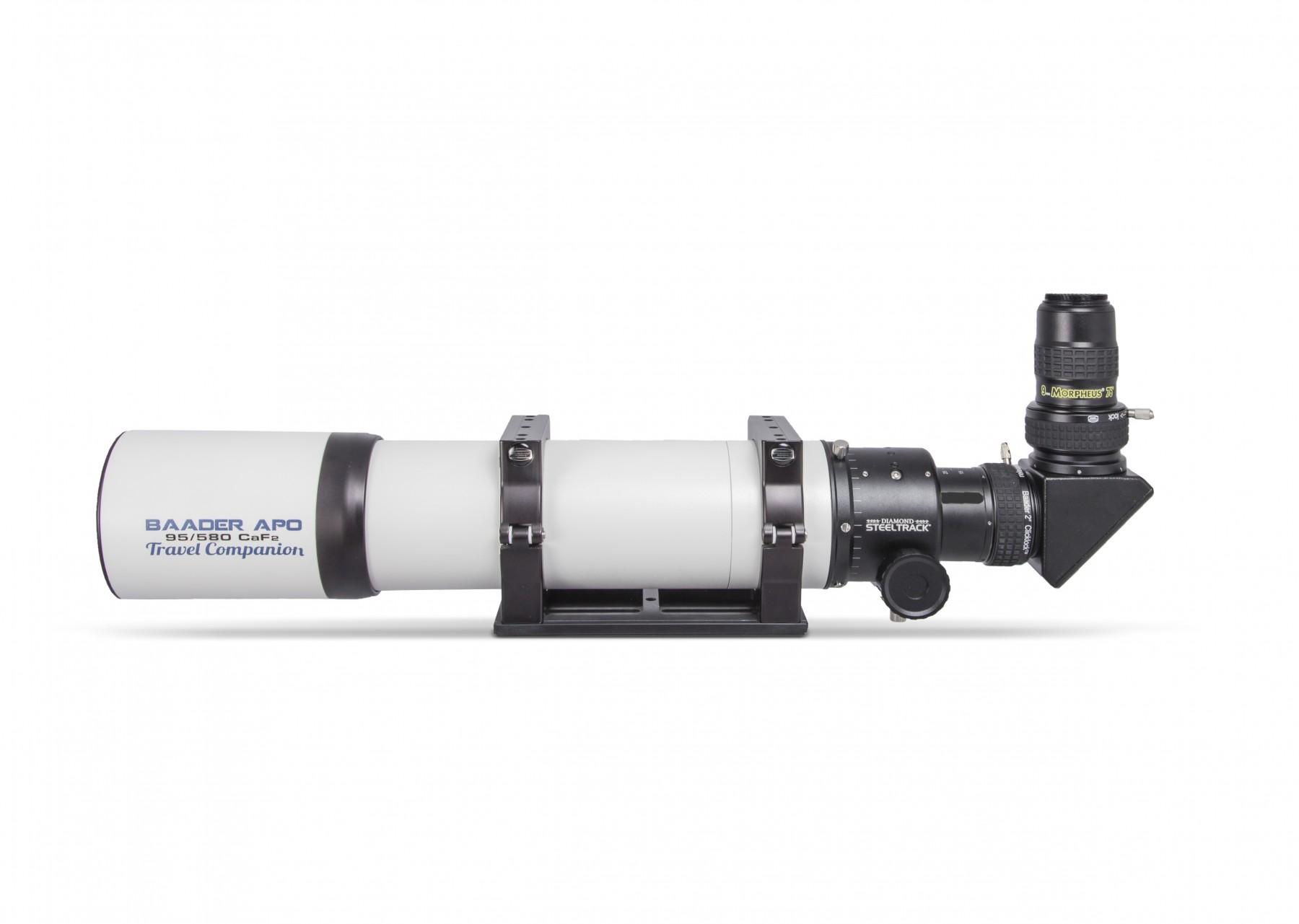 Anwendungsbild: Baader APO mit S58 ClickLock, BBHS Zenitspiegel und 9mm Morpheus Weitwinkel Okular