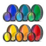 Baader Farbfilter einzeln (Blau, Hellblau, Grün, Gelb, Rot, Orange)