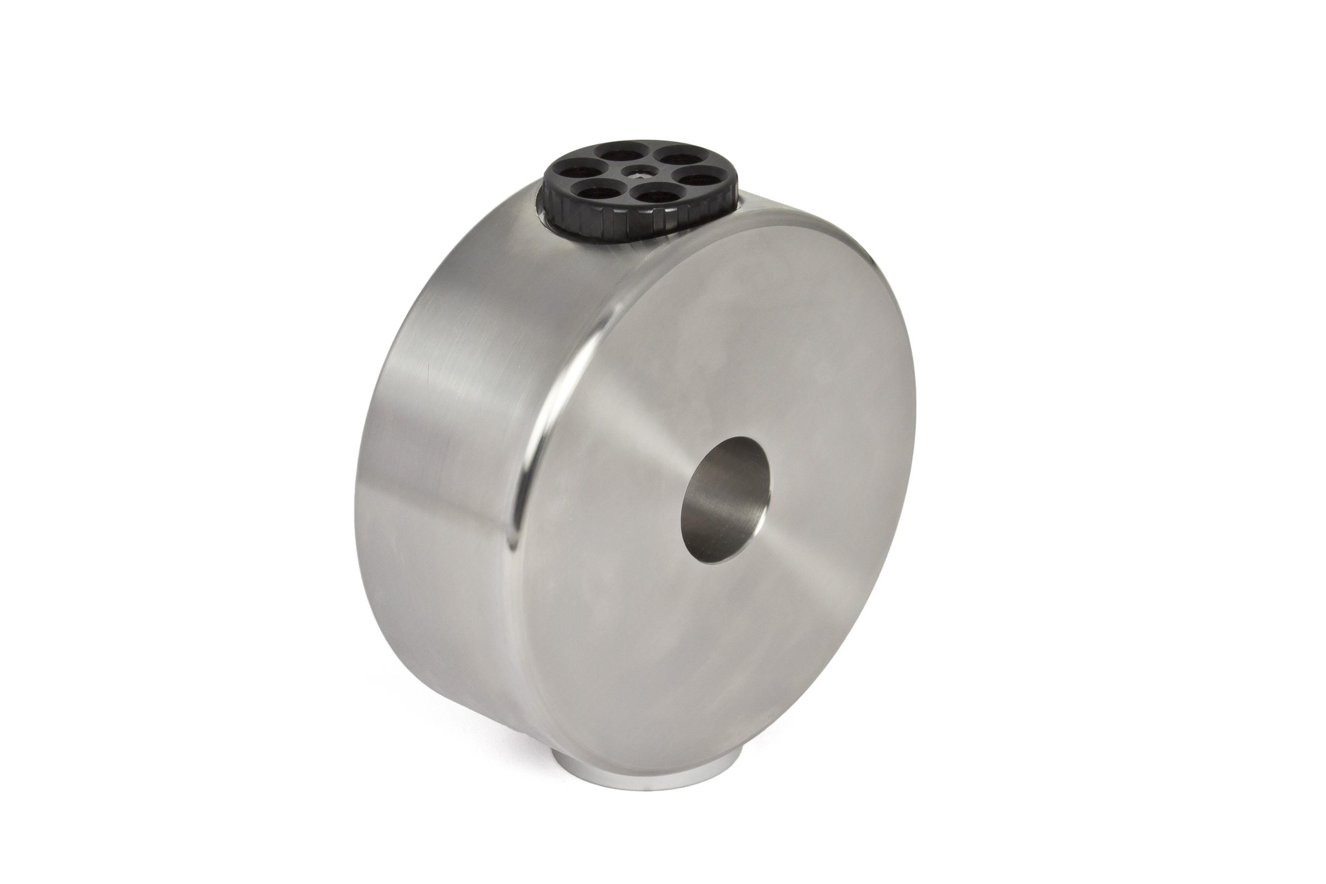 """6kg CDP-Gegengewicht für 10Micron GM1000 aus V2A-Stahl, inkl. ¼"""" Fotogewinde"""