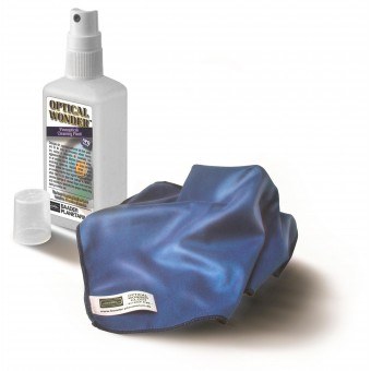 Optical Wonder™ Set (Cleaning Fluid and Cloth)