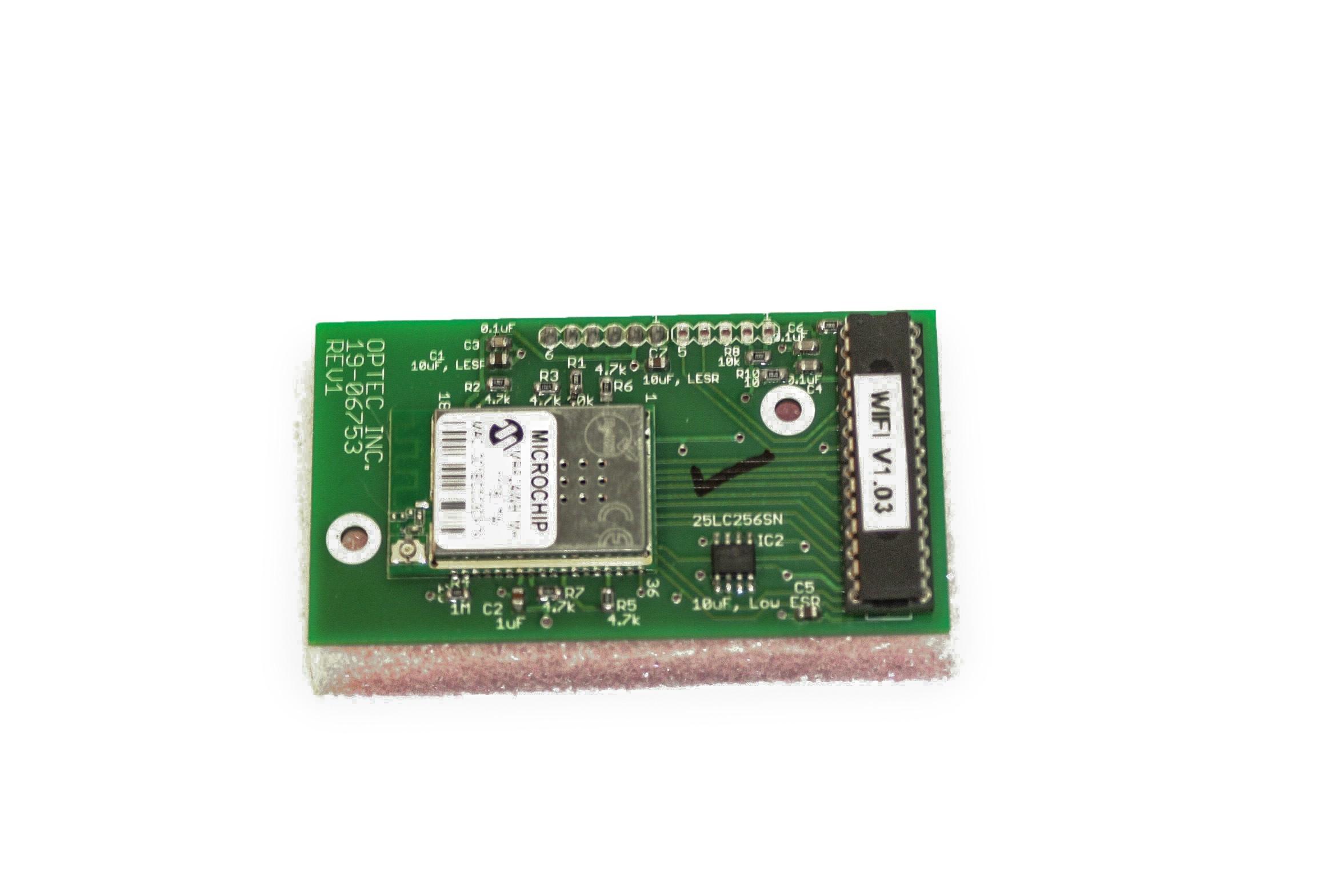 Optec Platine für 802.11b/g Wireless mit Antenne