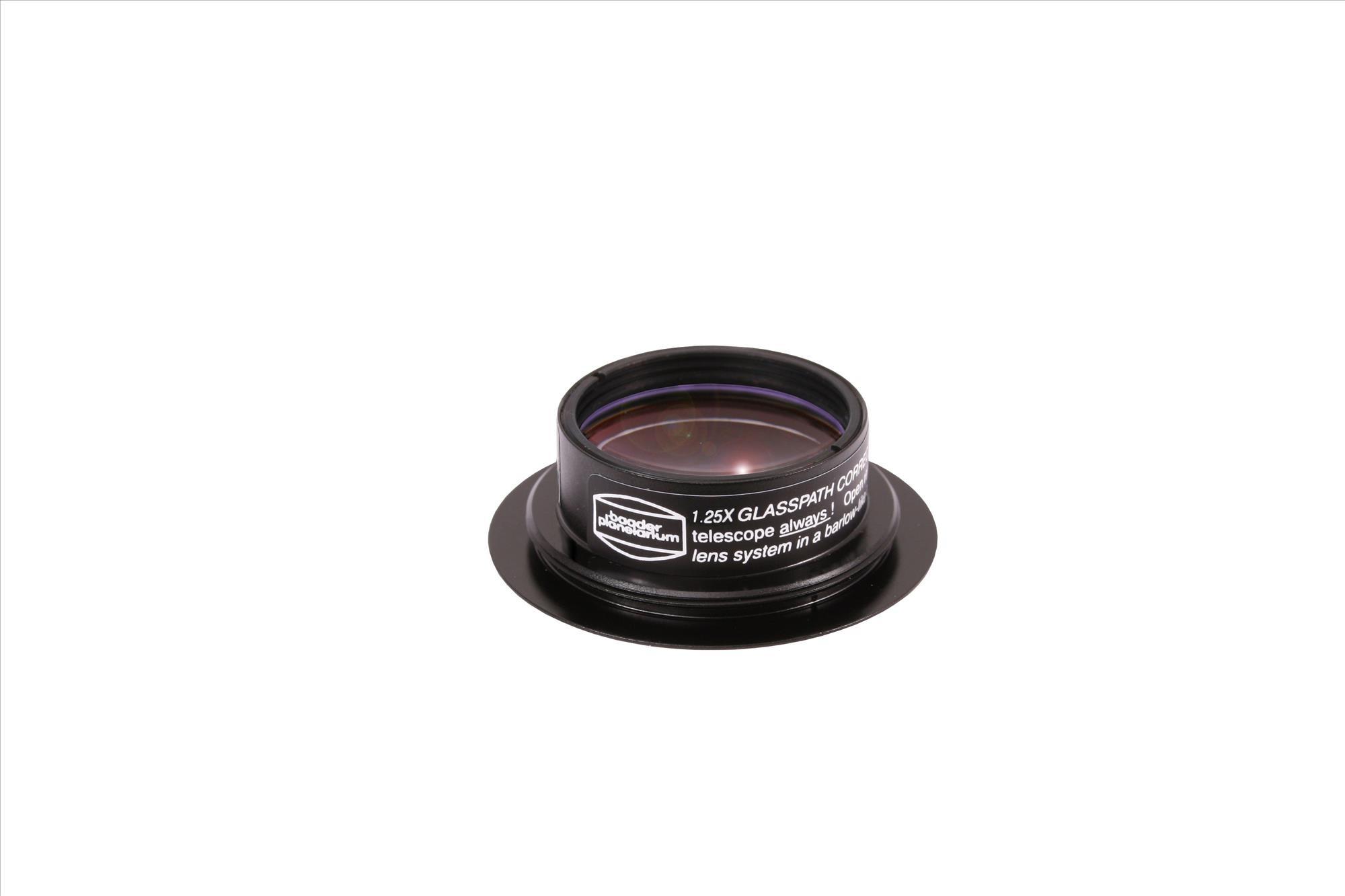 Glaswegkorrektor® 1:1,25 für Baader-Binokulare mit T-2 Gewindeanschluss (Maxbright® und Maxbright® II)