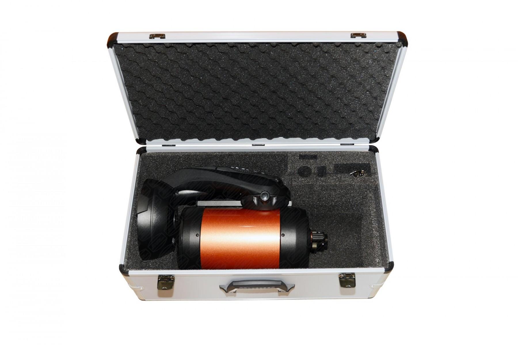 Lieferung ohne Teleskop