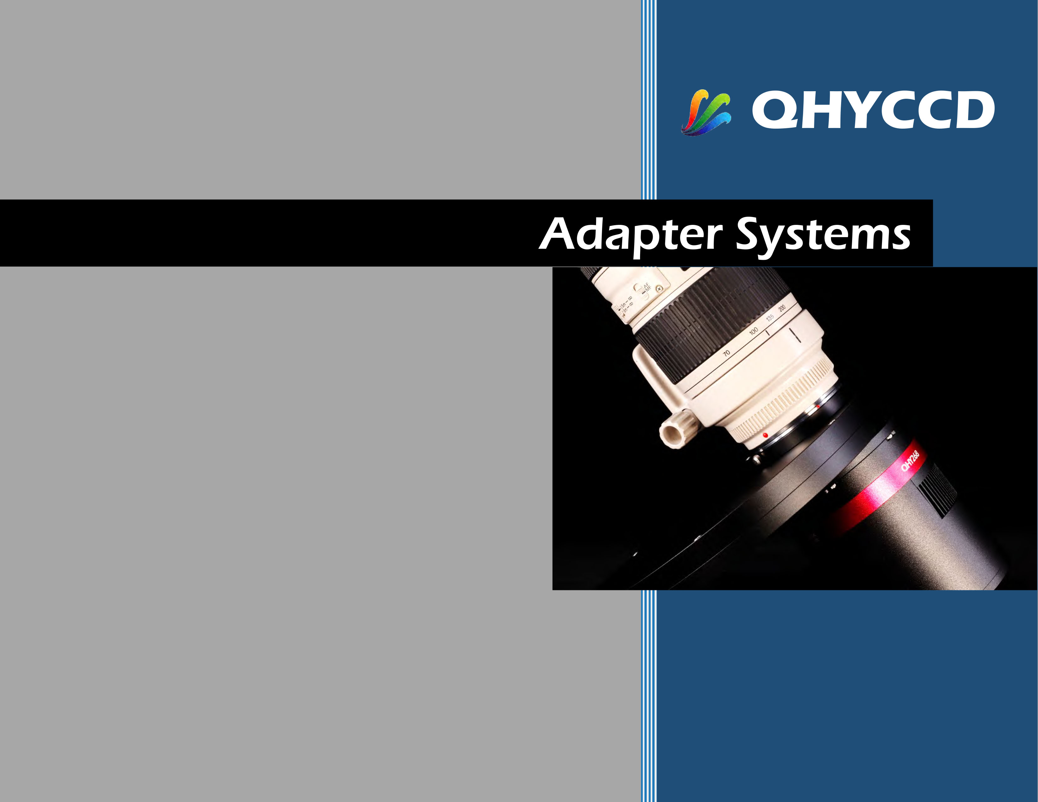 Alle Details zu den QHYCCD Komplett-Adaptersets (englische Version)