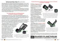 Universal Alan Gee II (UAG II) Bedienungsanleitung